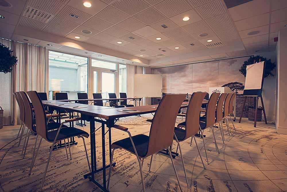 Håll möten för det stora eller lilla företaget på Falkenberg Strandbad