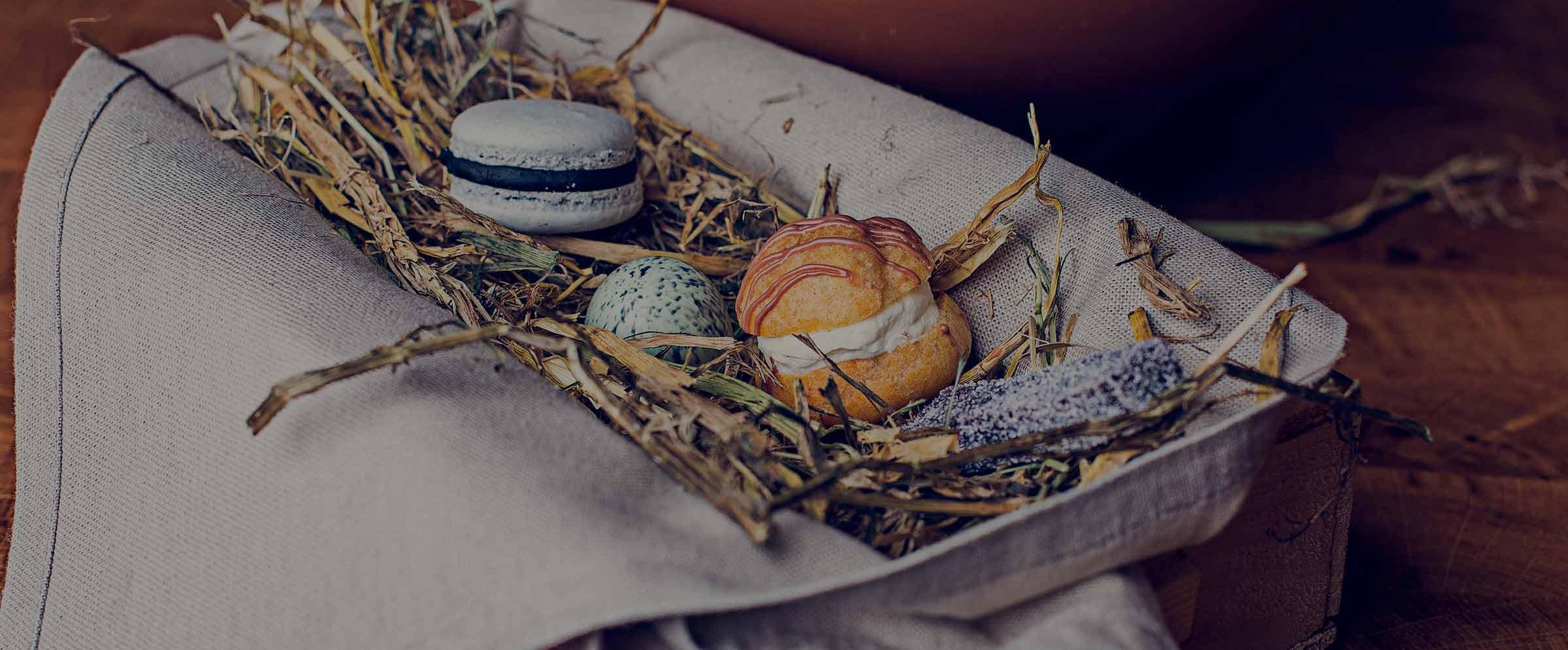 Desserter i absoluta toppklass i restaurangerna på Falkenberg Strandbad