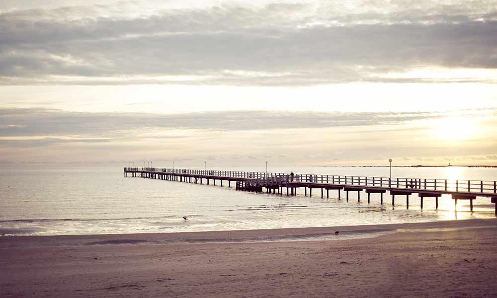 Falkenberg Strandbad - sparesort med havet som granne